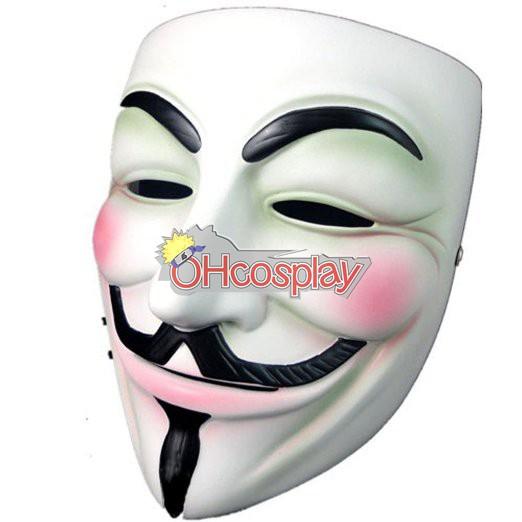 V като Вендета Cosplay Mask Original