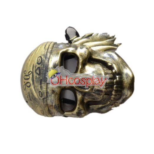 Карибски пирати Cosplay Mask Бронзов