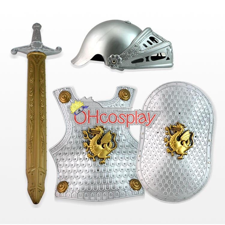 Knight В Armor костюм Cosplay