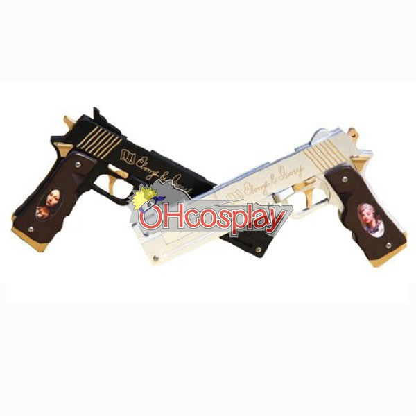 Devil May Cry Costume 3 Dante Cosplay Weapon Epony & Ivory