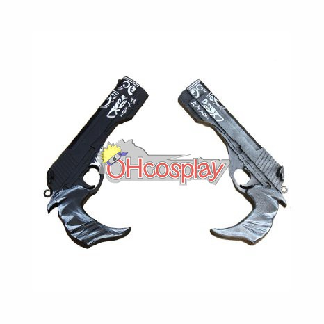 Devil May Cry Kostymer 5 Dante Cosplay Weapon Epony & Ivory