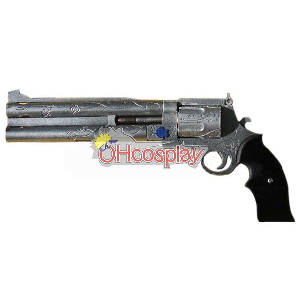Devil May Cry Costume 3 Nero Cosplay Weapon Blue Rose