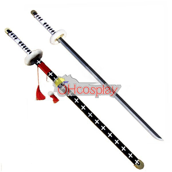 One Piece Kostymer Trafalgar Law SoulBringer Cosplay Weapon