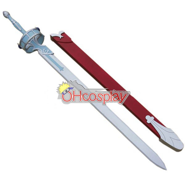 Sword Art Online Costume Asuna Flash Cosplay Sword