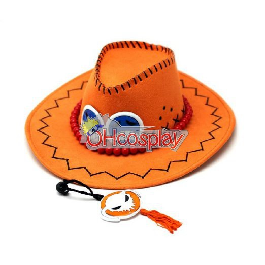 One Piece Costumes Portgas D Ace Cosplay Hat