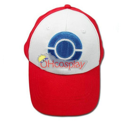 Pokemon Kostymer Ash Ketchum Cosplay Hat