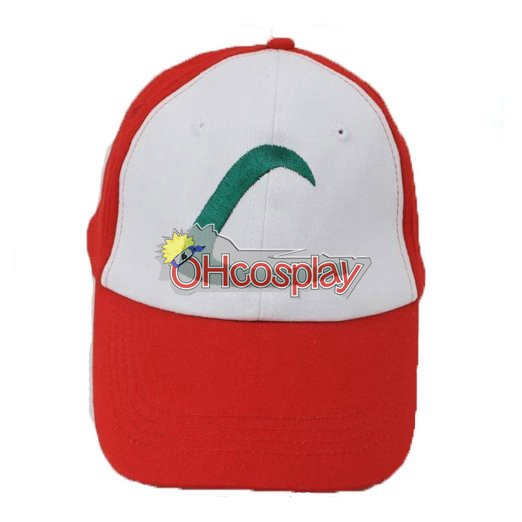 Pokemon Kostymer Ash Ketchum Cosplay Hat 1