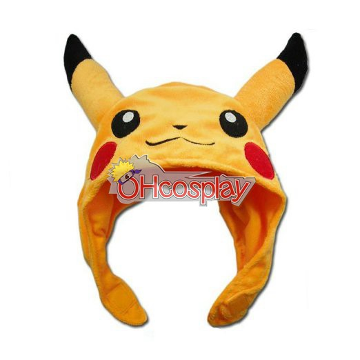 Pokemon Kostymer Pikachu Cosplay Hat