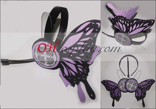 Vocaloid Miku Copslay Purple Prop Headset