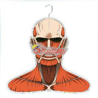 Costumi Carnevale Attack on Titan Giant Clothes Hanger