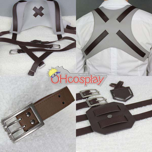 Attack on Titan Costumes (Shingeki no Kyojin) Cosplay Belt - Deluxe Version