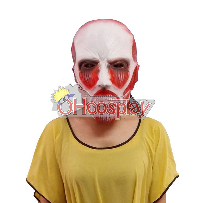 Costumi Carnevale Attack on Titan (Shingeki no Kyojin) Giant Head Cover