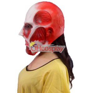 Attack on Titan Fastelavn Kostumer (Shingeki no Kyojin) Giant Head Cover