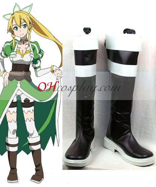 Déguisement Sword Art Online Agil Green Costume Carnaval Cosplay Chaussures