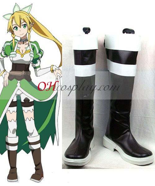 Sword Art Online Fastelavn Kostumer (ALfheim Online) Leefa (Kirigaya Suguha) udklædning Støvler