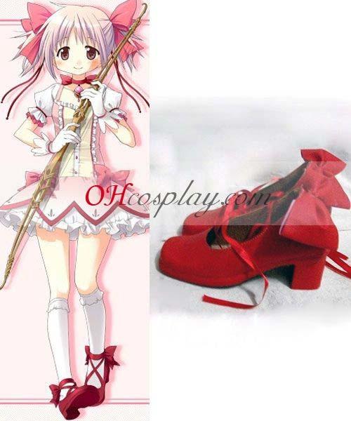 Puella Magi Kostüm Madoka Magi Kostümca Kostüm Kaname Madoka Cosplay Schuhe