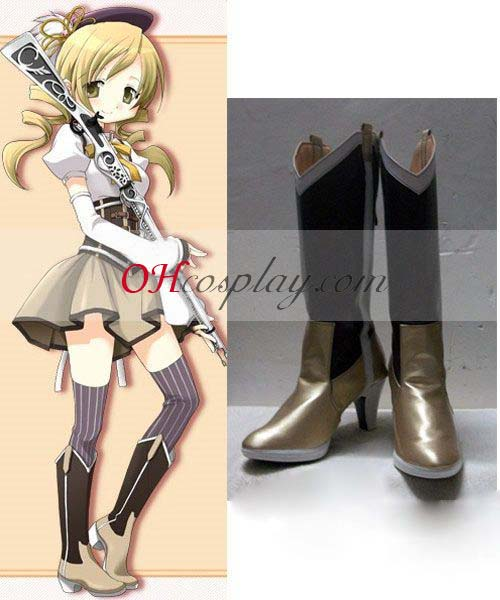 Puella Magi Costumes Tomoe Mami Cosplay Shoes