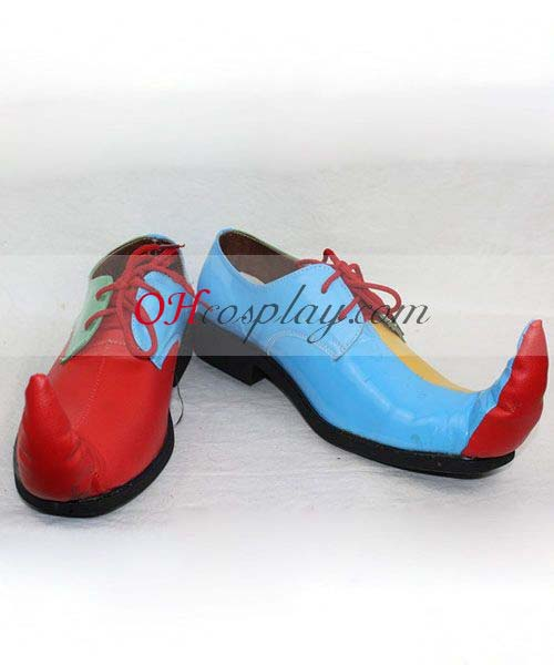 Clown cosplay shoes