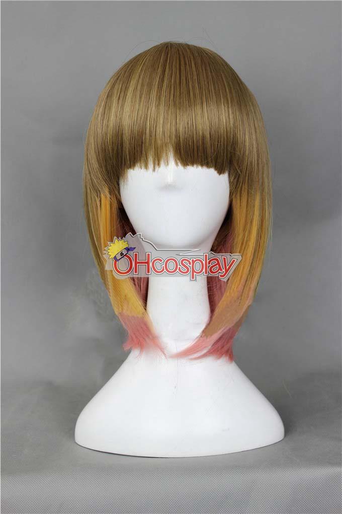 Japan Harajuku Wigs Series Color Mixing BobHaircut Cosplay Wig - RL034