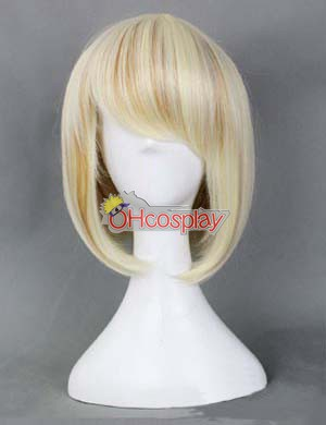 Japan Harajuku Pruiken Series Color Mixing BobHaircut Cosplay Wig - RL030