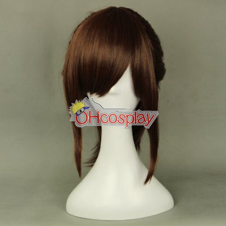 Shingeki no Kyojin (Costumi Carnevale Attack on Titan) Sasha Blause Brown Cosplay Wig 320E
