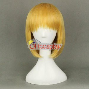 Shingeki no Kyojin (Attack on Titan Karneval Kläder) Armin Arlert Yellow Coplay Wig 320C