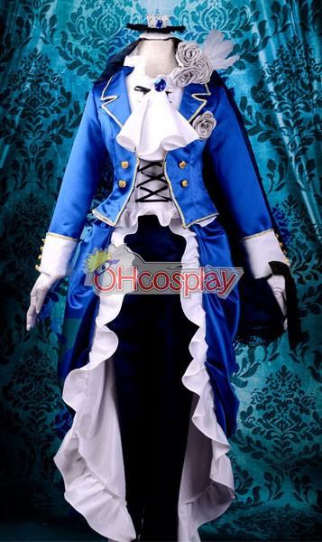 Black Butler Κοστούμια Ciel Lolita Cosplay Κοστούμια Deluxe-KH11