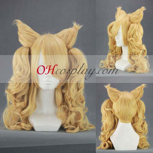 Shingeki no Kyojin (Déguisement Attack on Titan) Armin Arlert Yellow Coplay Wig 320C