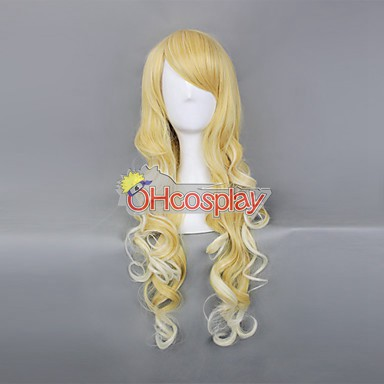 Japan Harajuku Peruukki Series Yellow Womanliness Cosplay Wig - RL033