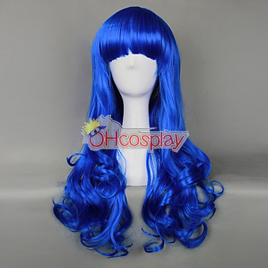 Japan Harajuku Peruukki Series Dark Blue Womanliness Cosplay Wig - RL032