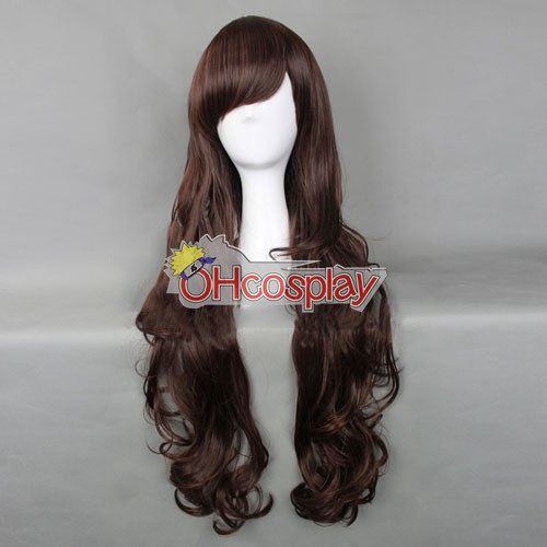Japan Harajuku Peruker Series Brown Womanliness Cosplay Wig - RL031