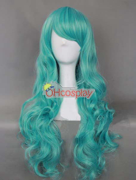 Japan Harajuku Peruker Series Blue Womanliness Cosplay Wig - RL029