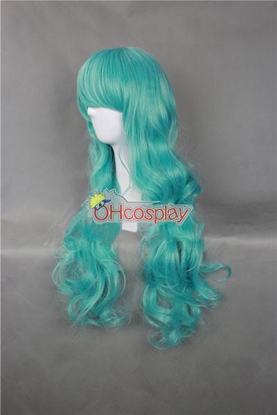Япония Harajuku Перуки Series Blue женственост Cosplay перука - RL029