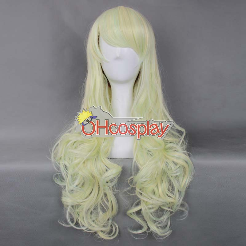 Japan Harajuku Peruker Series Light Yellow Womanliness Cosplay Wig - RL028