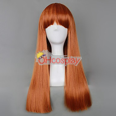 Japan Harajuku Parókák Series Light Yellow Womanliness Cosplay Wig - RL028