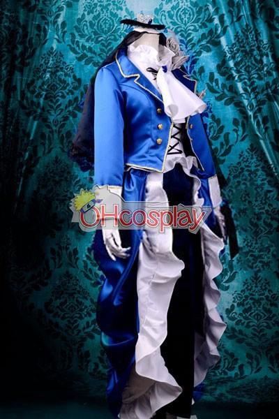 Black Butler Fastelavn Kostumer Ciel Lolita udklædning Fastelavn Kostumer Deluxe-KH11
