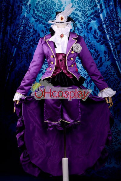 Black Butler Costumes Trancy Lolita Cosplay Costume Deluxe-KH12