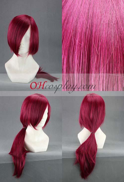 Brave10 Yuri Kamanosuke Wine Red udklædning Wig-313A