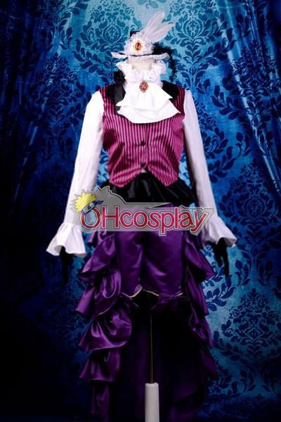 Черно Бътлър костюми Trancy Lolita Cosplay костюми Deluxe-KH12