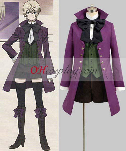 Black Butler Puku Alois Trancy Coat Cosplay Puku