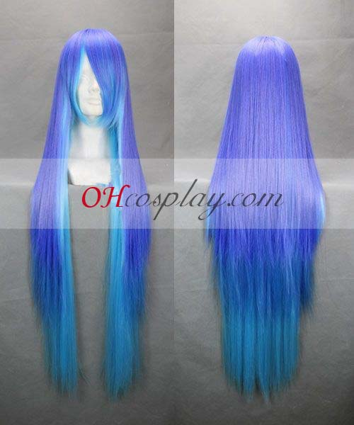 ANTI THE HOLiC Namine Ritsu Purple&Blue udklædning Wig-256A