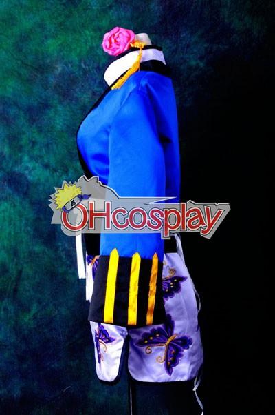 Черно Bulter Ран Мао Cheongsam Deluxe Cosplay костюми