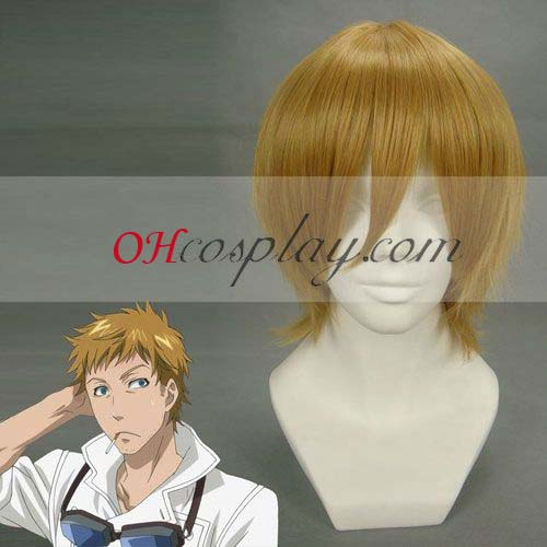 Costumi Carnevale Black Butler Pluto Yellow Cosplay Wig-199A