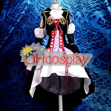 Vocaloid Sandplay Singing of The Dragon Haku Cosplay Costume Deluxe Version