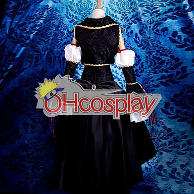Vocaloid Sandplay Пеенето на The Dragon Хаку Cosplay костюми Deluxe версия