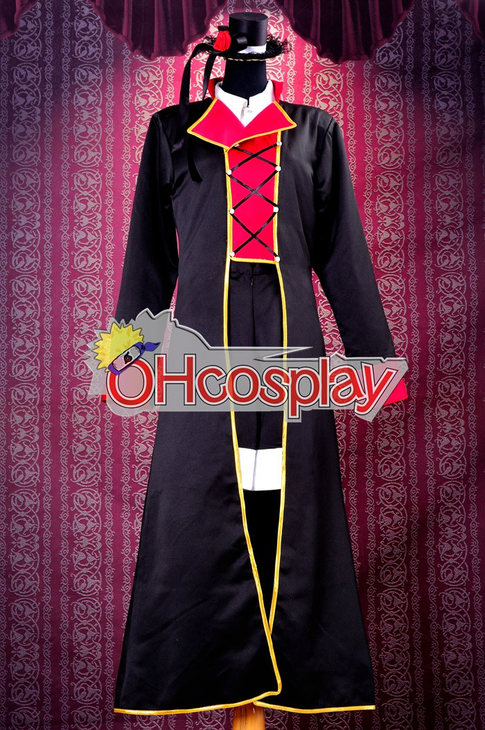 Vocaloid Sandplay Singing of The Dragon Haku Cosplay Jelmez Deluxe Version
