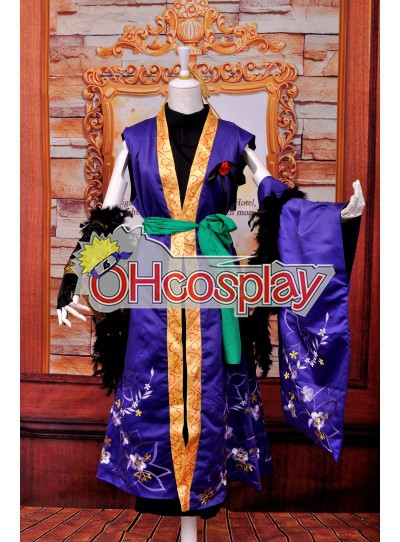Ruler Vocaloid-Gakupo Brake Yuet Wah Computer Embroidery Cosplay Κοστούμια