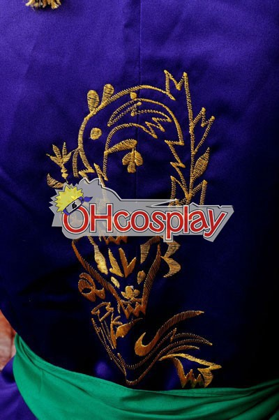 Ruler Vocaloid-Gakupo Brake Yuet Wah компютърна бродерия Cosplay костюми