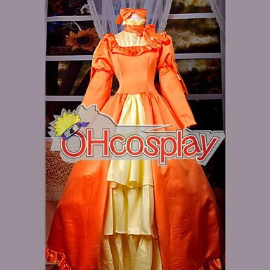 Черно Bulter Elizabeth Orange рокля Cosplay костюми