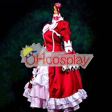 Черно Bulter Elizabeth Red Dress Cosplay костюми